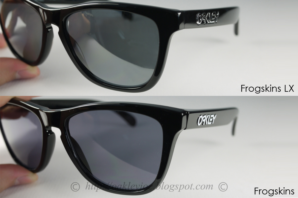 oakley frogskins lx difference