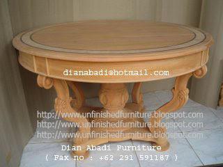 Klasik furniture meja makan klasik meja solid mahoni meja makan klasik mentah unfinished supplier jepara furniture meja makan mentah