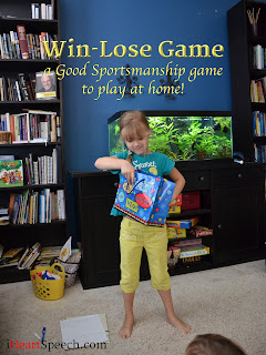 before kindergarten (PreK) child playing a good sportsmanship game