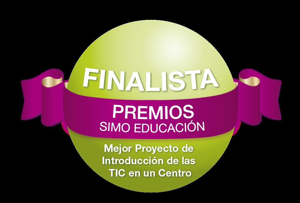 FINALISTA A LOS PREMIOS SIMO EDUCACIÓN 2013