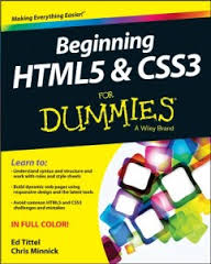Best Books To Learn HTML5 and CSS3