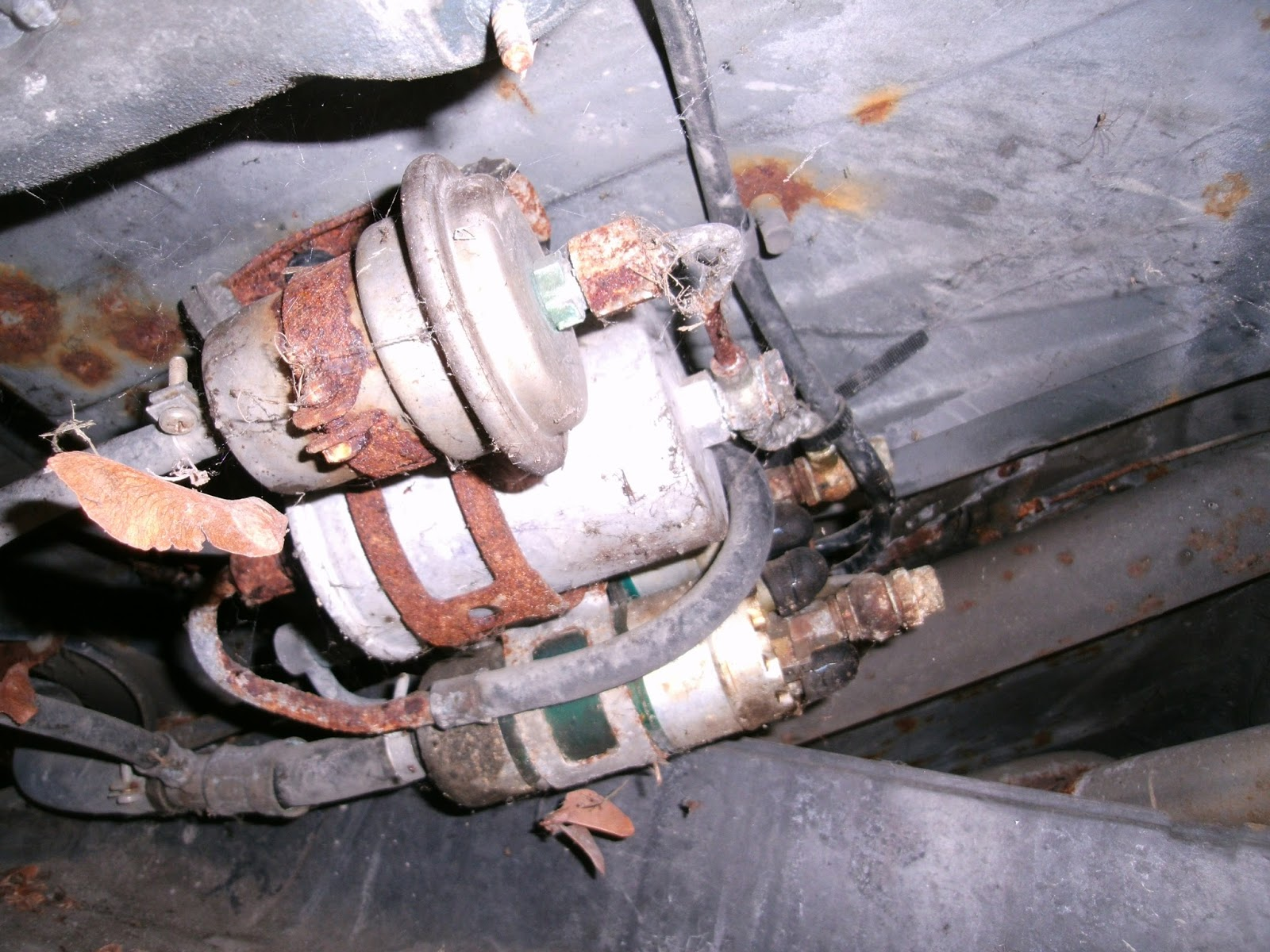 Plan to replace 2 fuel pumps, fuel filter, and fuel accumulator;