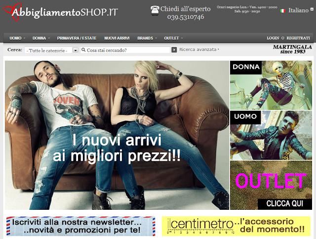 AbbigliamentoShop.it - Abbigliamento di tendenza uomo e donna! Risparmiare Online
