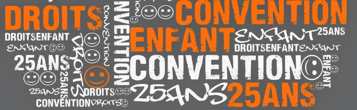 25 ans de la Convention des Droits de l'Enfant