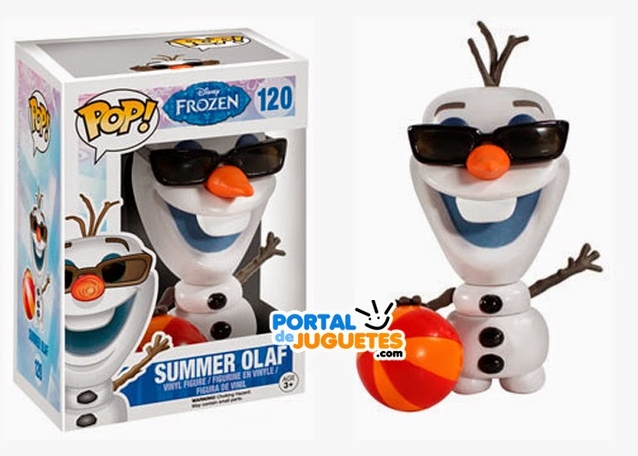 figura olaf verano frozen funko