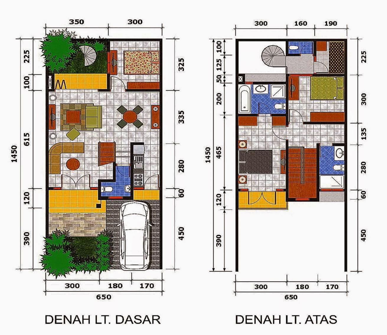 Sketsa Rumah Minimalis dan Rancangannya  Desain Rumah Minimalis