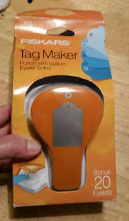 fiskars tag maker