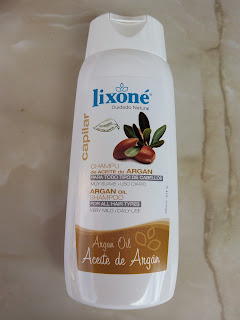 champú de aceite de argán