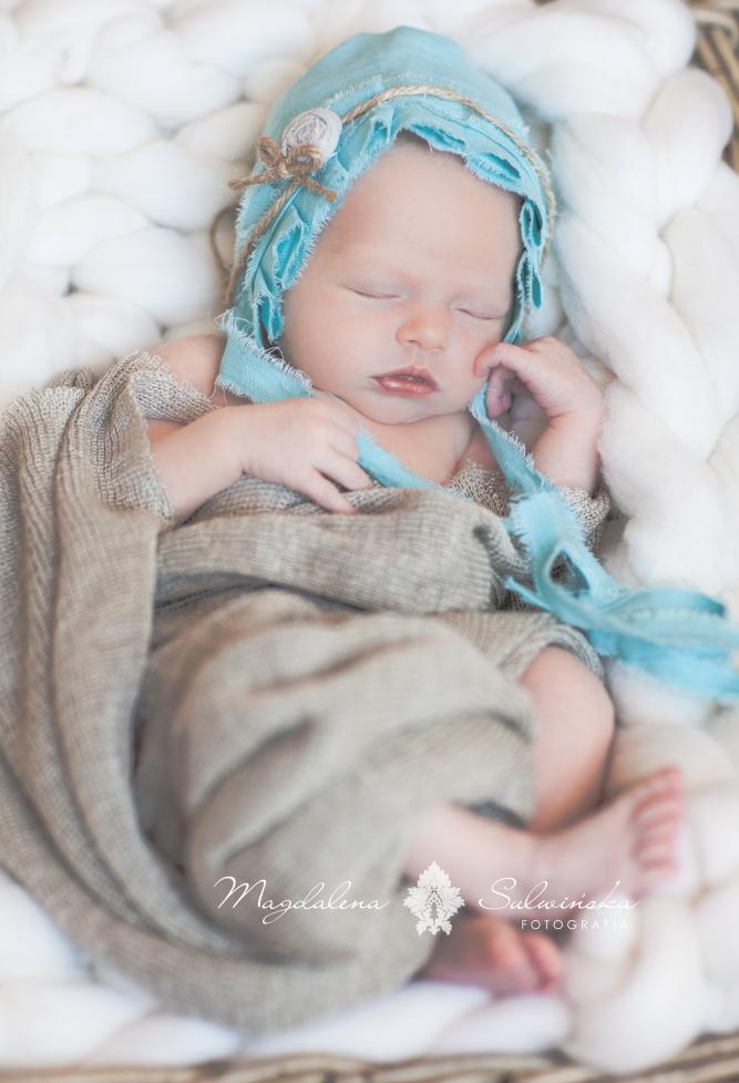 Fotografia noworodkowa Olsztyna Magdalena Sulwińska
