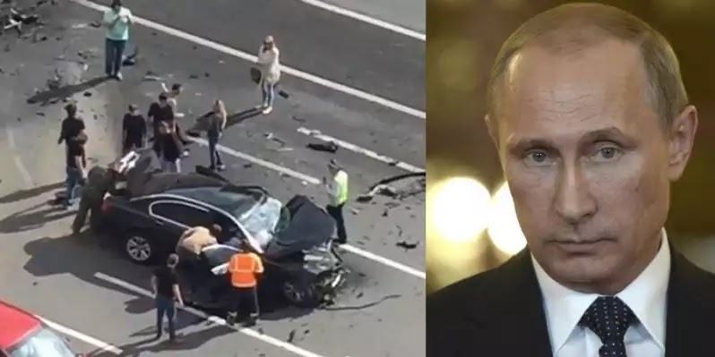 Ρωσικά ΜΜΕ: «Το τροχαίο ήταν σχέδιο δολοφονίας του Πούτιν»