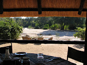 Dining Room and Campfire, Zimbabwe
