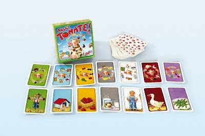 Alles Tomate!  - The box and playing cards