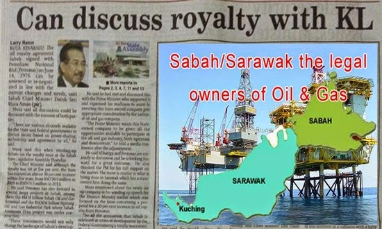 Musa Aman Why discuss and ask for our own oil