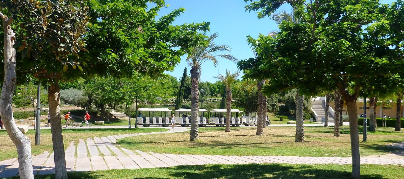 Valencia jardines del r o turia mis paseos - Jardines valencia ...