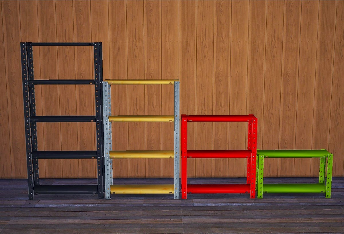 Very Impressive portraiture of My Sims 4 Blog: Shelves and Clutter by Kimu412 with #C30908 color and 1200x816 pixels