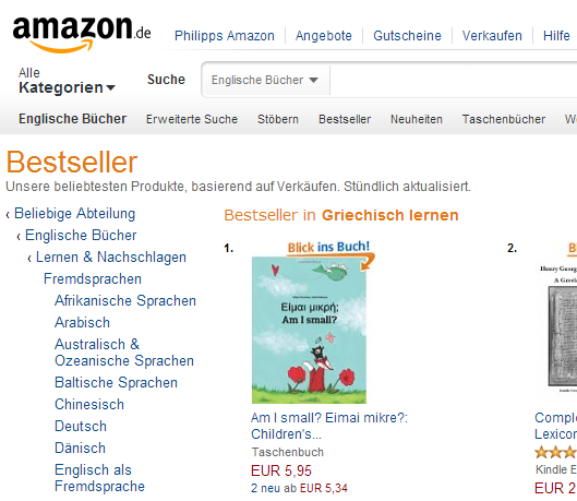 http://www.amazon.de/small-Eimai-mikre-Childrens-English-Greek/dp/1494919648/