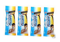 Buy Gillette Guard Razor Set of 5 at Rs.69 : Buytoearn