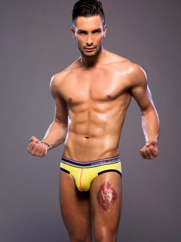 Andrew Christian Retro Pop Sonic Brief Gayrado
