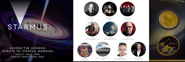 FESTIVAL STARMUS 1 julio Concierto Sonic Universe, entrega medalla Stephen Hawking y clausura 1/07