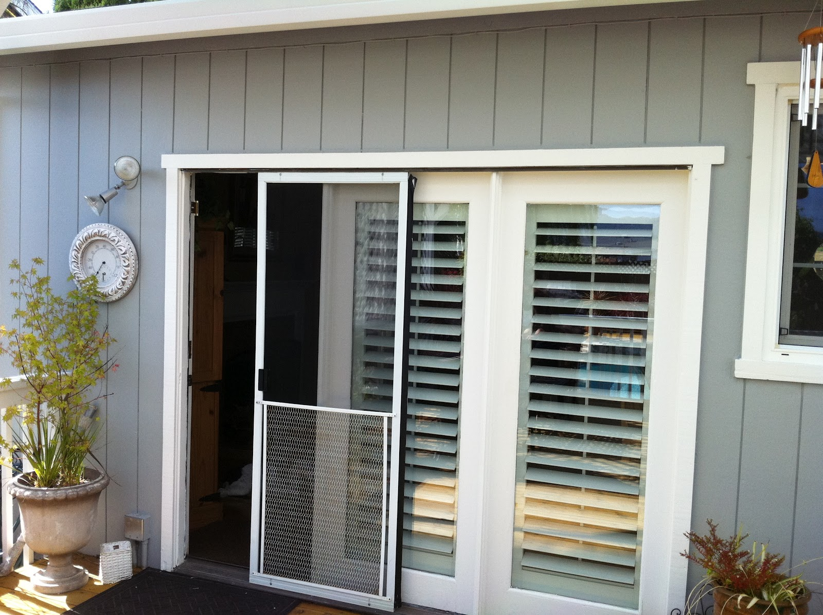 1195 #806B4B Marvin Clad Inswing Door Before And After Photos Marin Glass And  save image Clad Doors 47571600