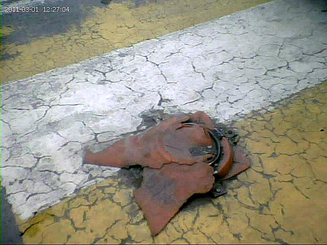 Ατυχήματα από υπολείμματα πλαστικών κώνων