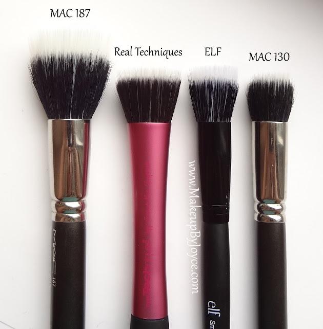 Makeupbyjoyce Review Comparison Elf Studio Brush