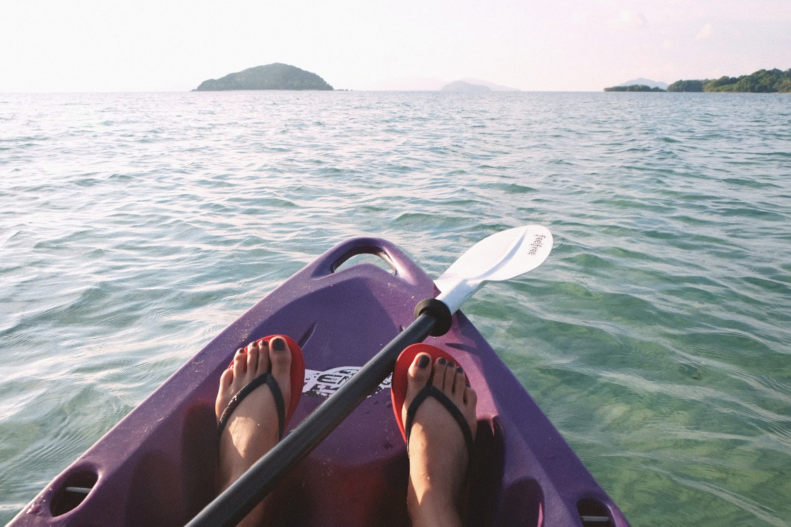 Girl in kayak - New Year's Resolutions - motherdistracted.co.uk