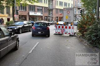 Schanzenstraße / Lagerstraße - Baustelle
