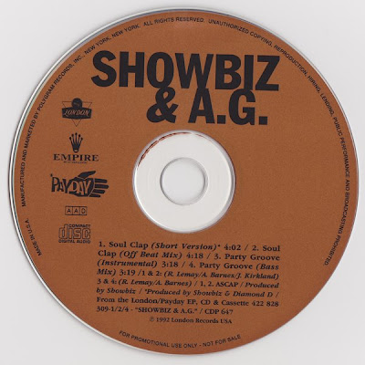 Showbiz & A.G. – Soul Clap / Party Groove (CDS) (1992) (320 kbps)