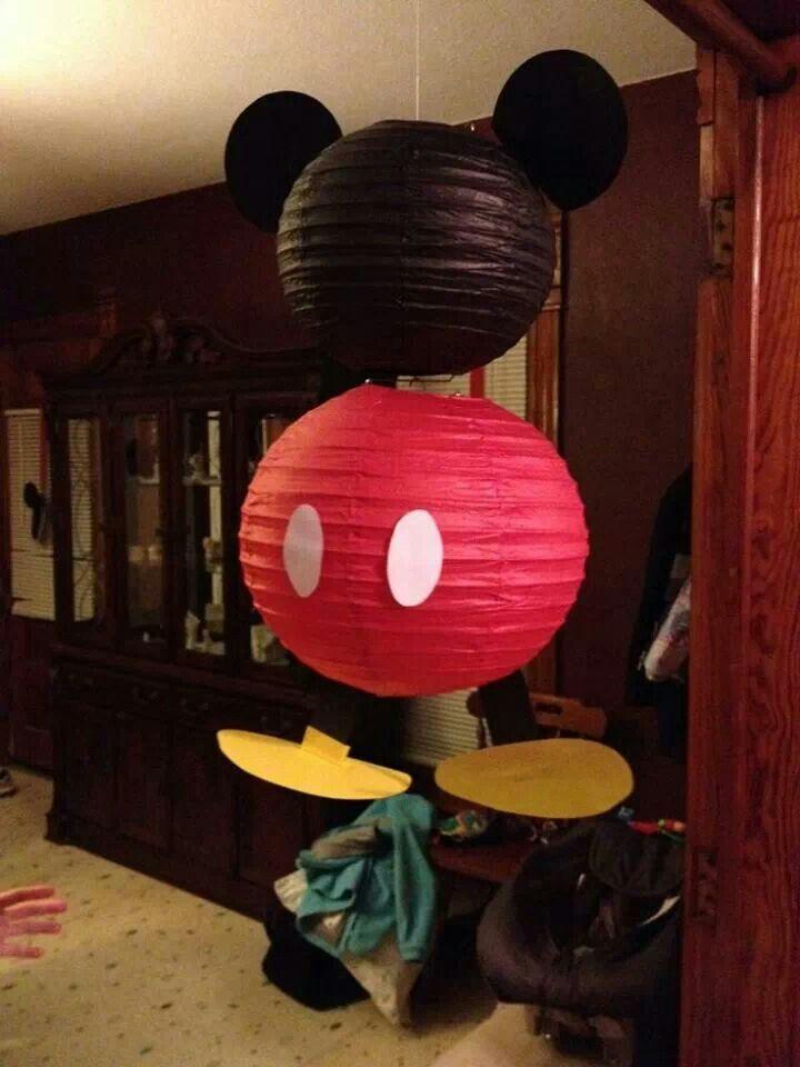 Casinha de Criança Ideias Faça Você Mesmo Decoração Mickey Mouse