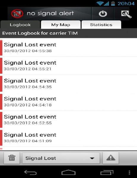 Galaxy Nexus Loss Signal After Update Android 4.0 ICS