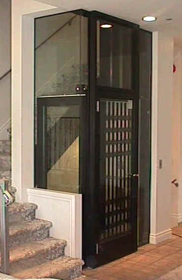 small elevators for residential buildings security sistems