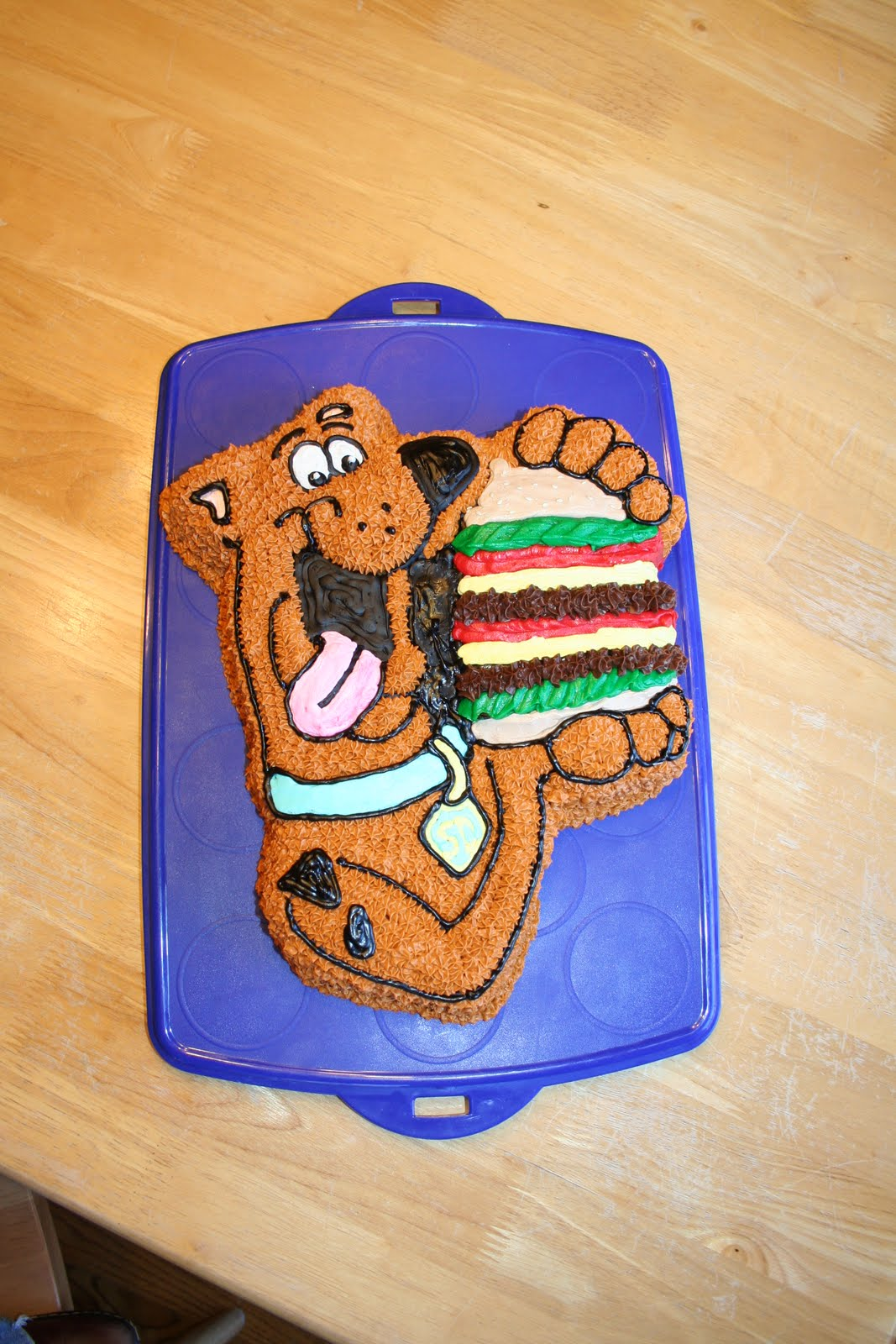 Say It Sweetly Scooby Doo Cake 02 20 2010
