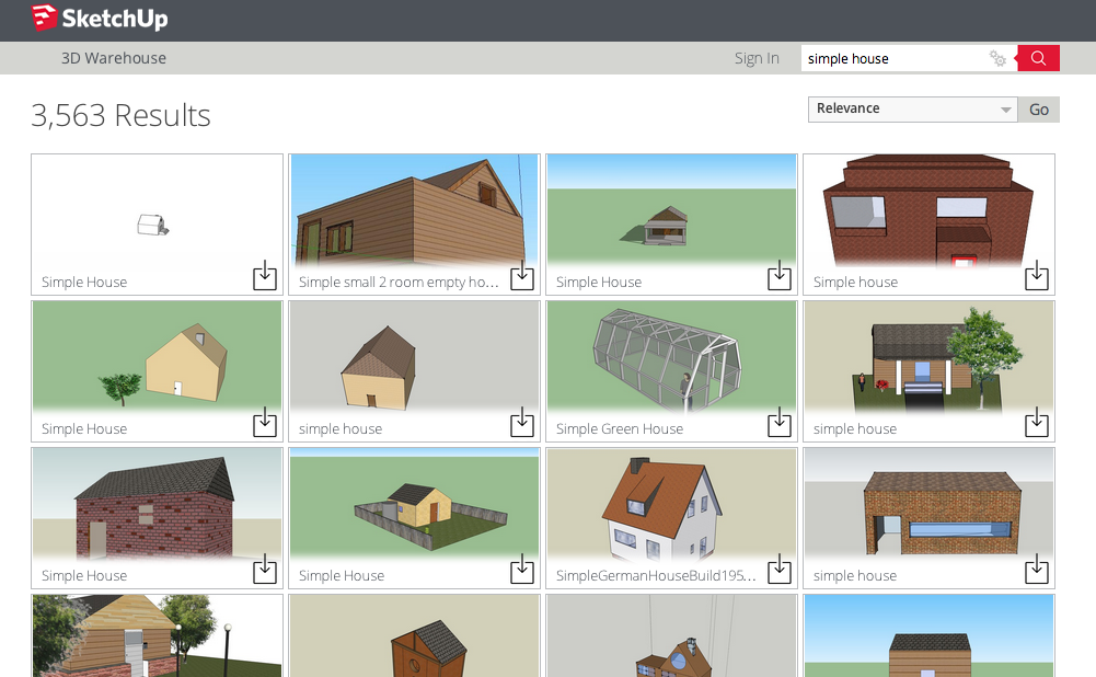 Sketchup tutorials online learning from cities for Minimalist house sketchup