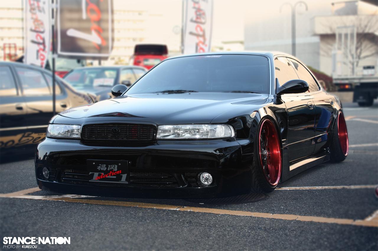 Mazda Sentia, badass, ciekawy design, piękny samochód, japoński luksusowy sedan, gleba, niskie zawieszenie, slammed, lowered, stance