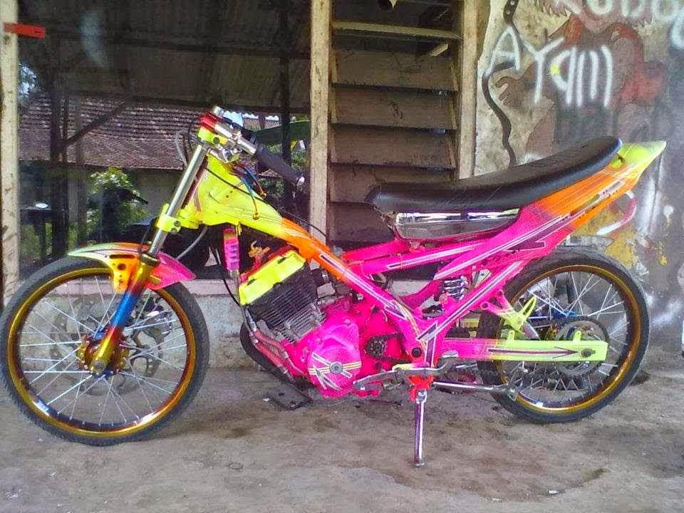 Gambar Motor Drag Bike