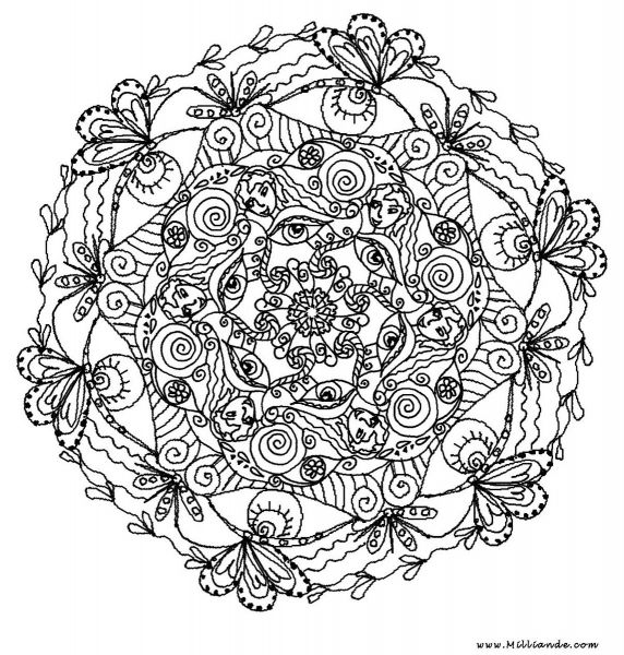 mandala coloring pages as therapy - photo#34