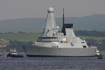 la proxima guerra uk reino unido envia barco guerra avanzado golfo persico iran