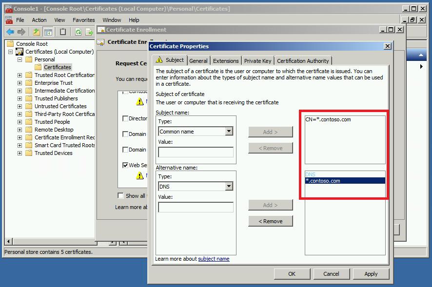 Fix For Certificate Error In Chrome Net