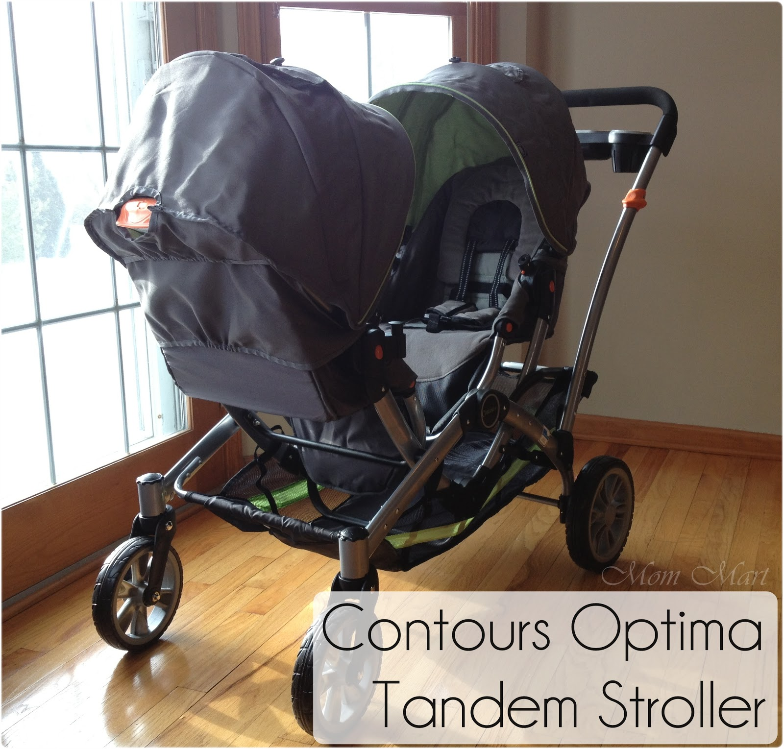 Mom Mart: Product Review: Contours Optima Tandem Double Stroller