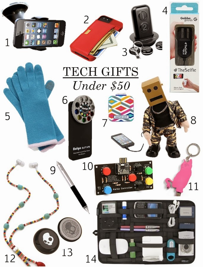 tech gifts under 50