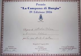 PREMIO CAMPANA DI BURGIO
