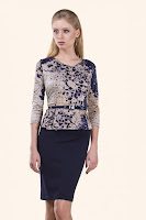 rochie-office-Dark Blue Election
