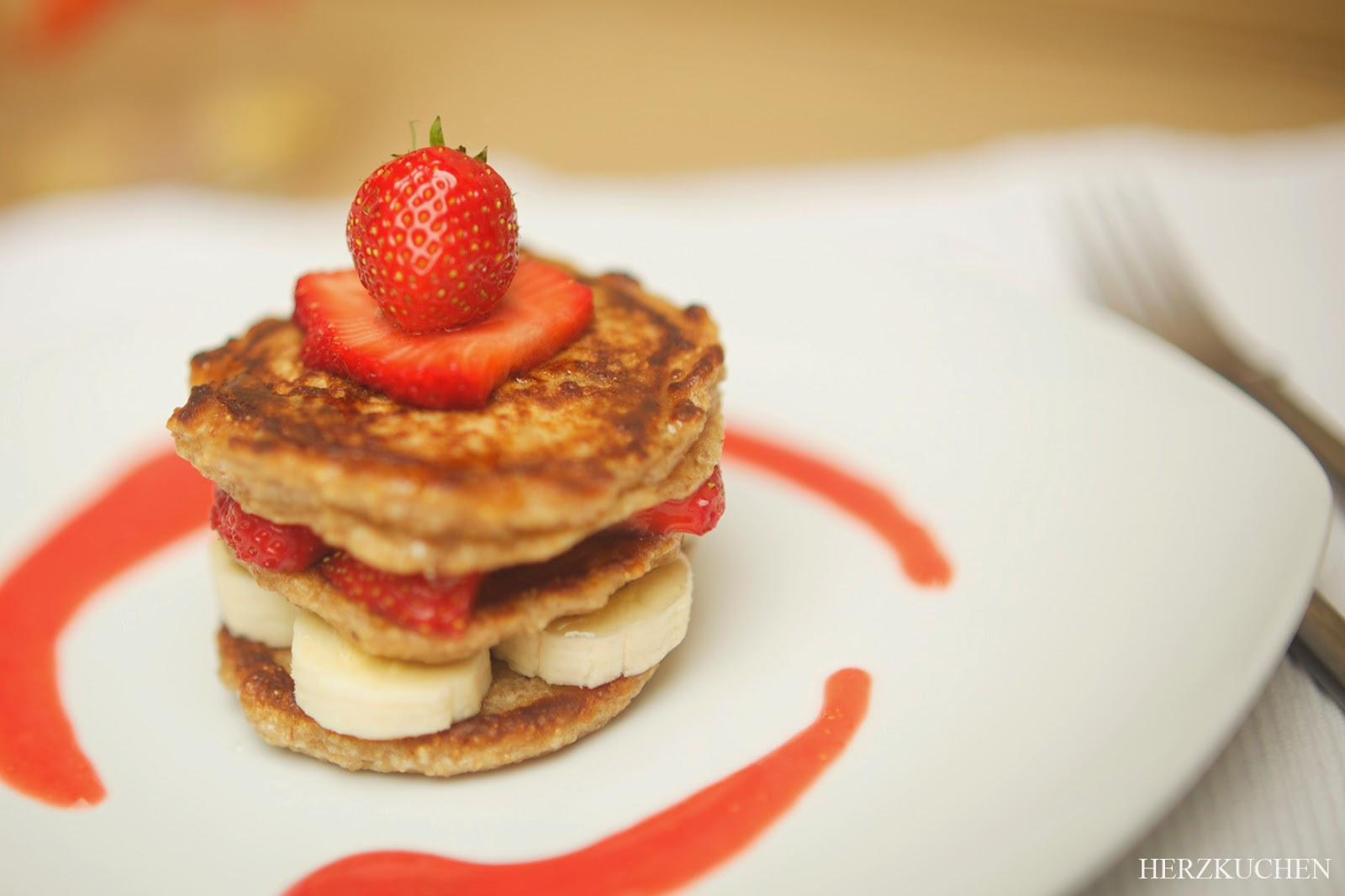 Vegane Pancakes