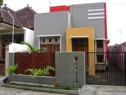 Foto Desain PAGAR DEPAN Rumah Minimalis TERBARU 2014