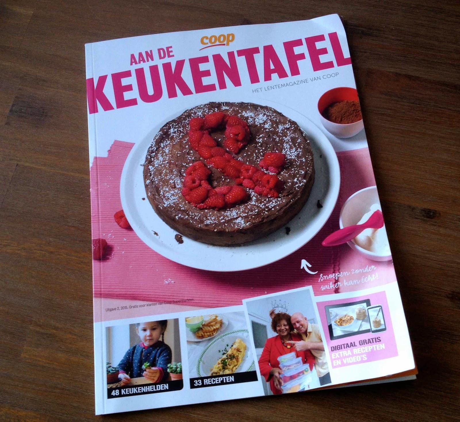 Aan de keukentafel….my 15 seconds of fame!