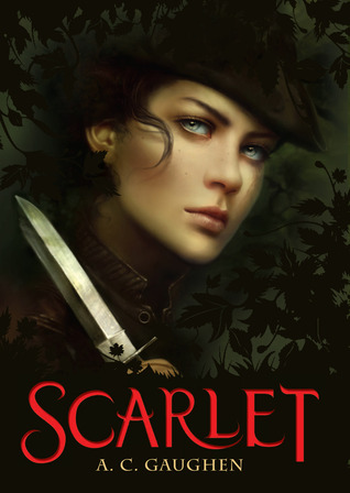 http://www.shedreamsinfiction.com/2014/01/review-scarlet-by-c-gaughen.html