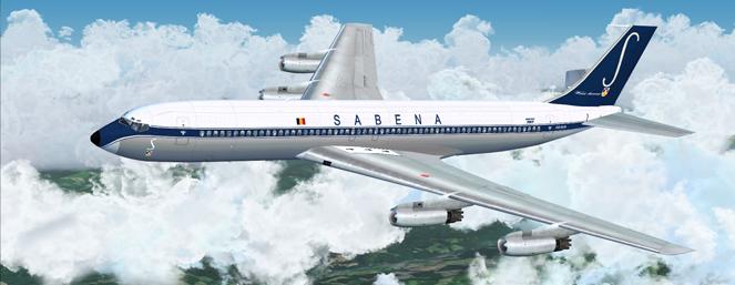 The Jet Age: Sabena Flight 548