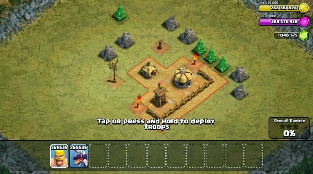 Mod Game Clash of Clans Unlimited Gems, Gold and Elixir