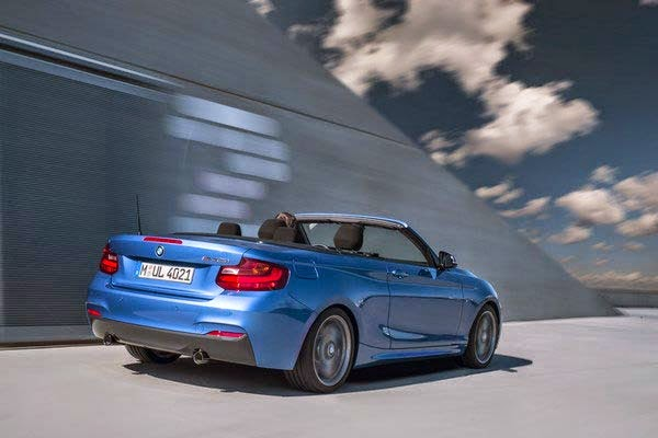 New 2015 BMW M235i Convertible Design Review